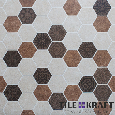 Floor Tiles-PGVT 3047 Decor